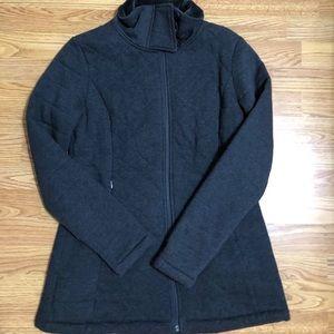 North Face Women's Jacket - Grey - Medium